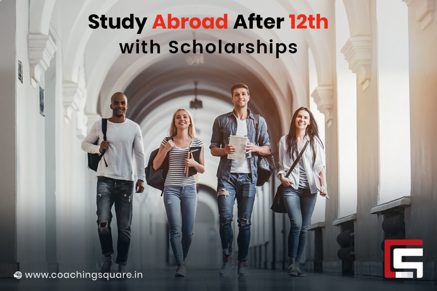 Study-Abroad After 12th with Scholarships